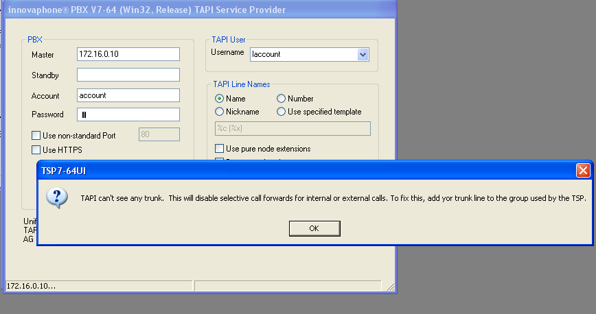 Image:Unified Win32 and x64 TAPI Service Provider - NoTrunk.png