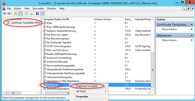 Howto:Creating custom Certificates using a Windows Certificate